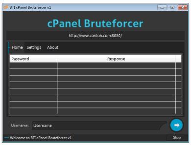 BTI Cpanel Bruteforcer v1