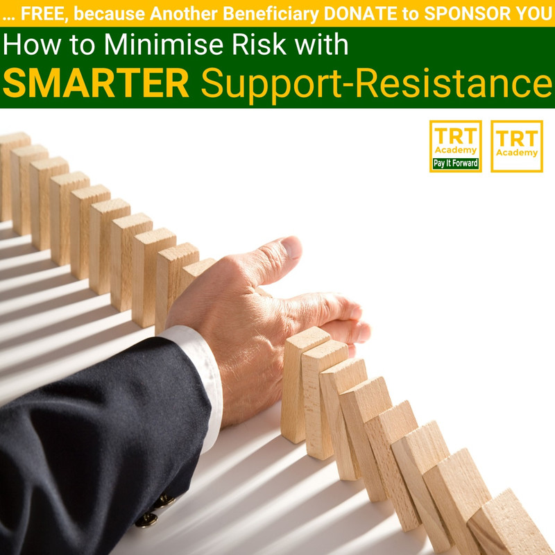 Yes! Send Me the Video – How to Minimise Risk with SMARTER Support-Resistance