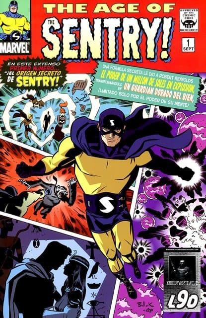 portada comic age of sentry