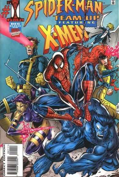 portada comic spider-man team up vol 1