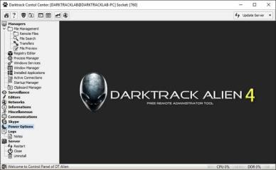 DARKTRACK 4 ALIEN