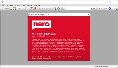 Nero Burning ROM 2021 v23.0.1.19 (x86/x64) Multilingual Portable