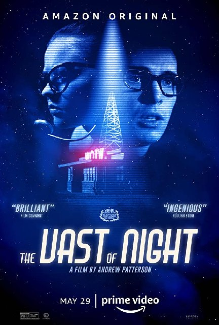 The Vast Of Night 2020 Movie Poster