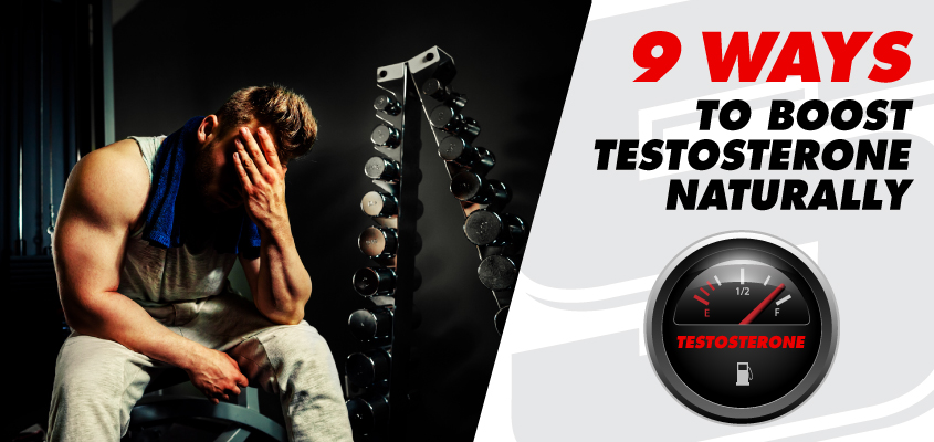 9 Methods to Increase Testosterone Naturally