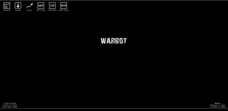 War botnet Cracked