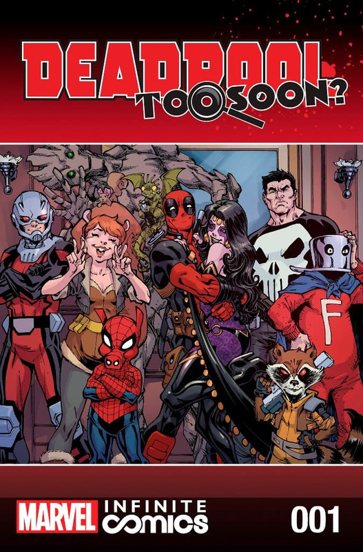 Deadpool Too Soon [8/8] Español | Mega