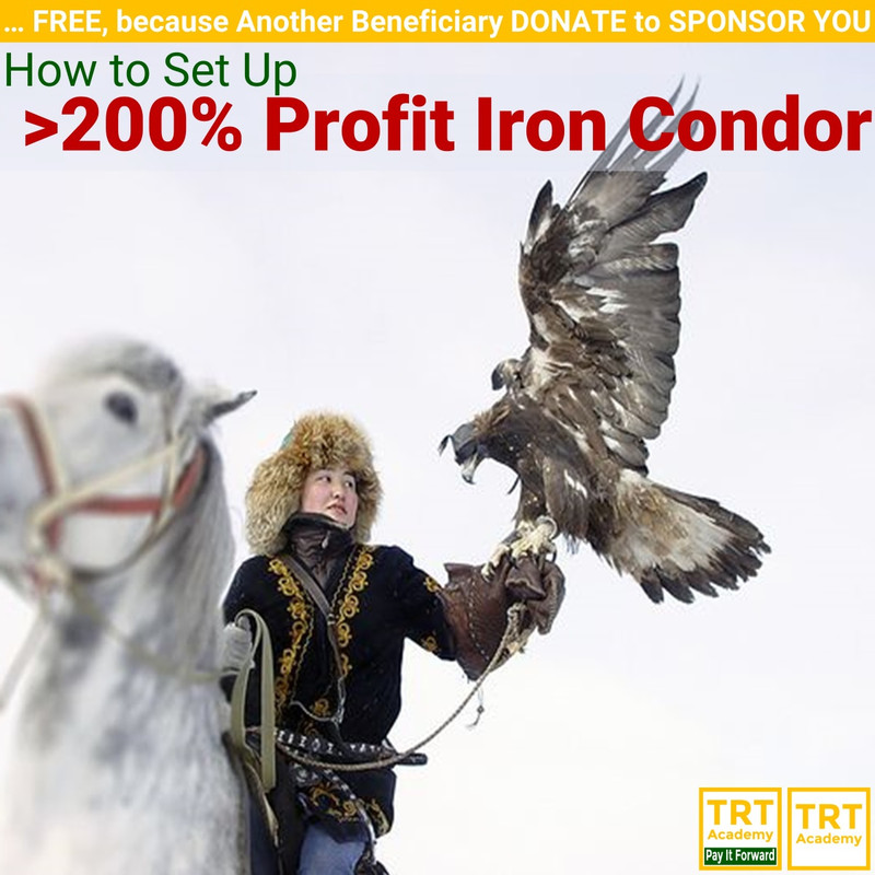 Yes! Send Me the Video – How to Set Up >200% Profit Iron Condor