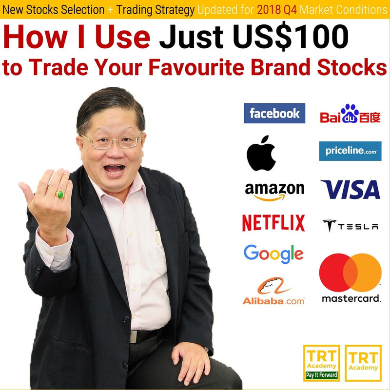 How I Use Just US$100 to Trade Your Favourite Brand Stocks – 2018 Q4 #3