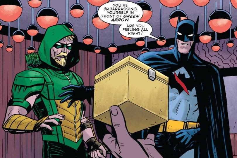 Green Arrow With Batman