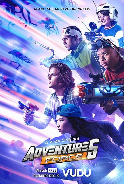 Adventure Force 5 2019 Movie Poster