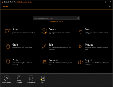 DAEMON Tools Ultra v5.9.0.1527 (x64) Multilingual + Crack