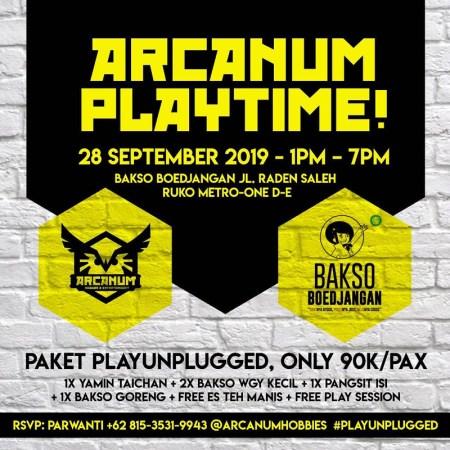 poster arcanum playtime