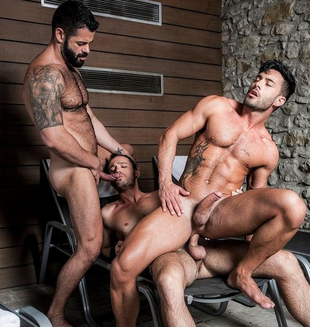 Poolside Breeding: Victor D'Angelo, Drake Rogers, Andy Star