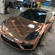 Porsche-Panamera-Turbo-S-E-Hybrid-in-chrome-wrap-2