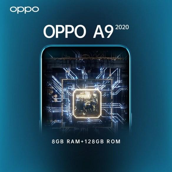 Oppo A9 2020 Specs