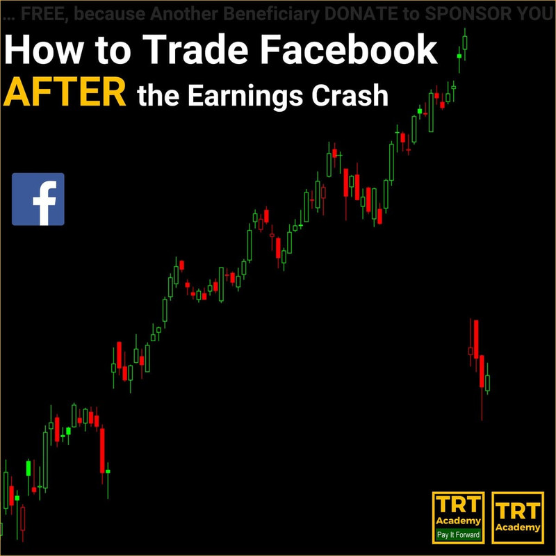 How to Trade Facebook AFTER the Earnings Crash