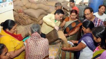 ration fair price shop, Img Src:Hindustan Times