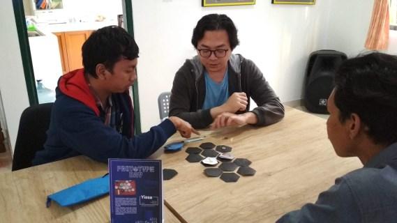 Ujicoba Yissa dalam Prototype Day 2