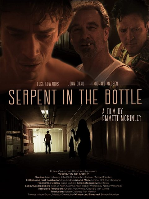 Serpent In The Bottle 2020 Movie Poster