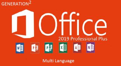 Microsoft Office 2019 Pro Plus Retail MULTi-25 NOV 2020 {Gen2}