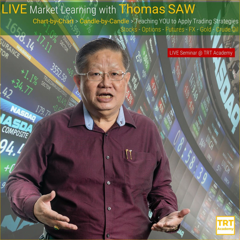 5 February – [LIVE Seminar @ TRT Academy]  LIVE Market Learning with Thomas SAW