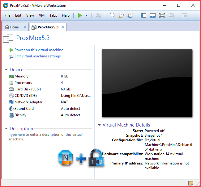 Install ProxMox 5 3 into VMware Workstation 14 – Cyber