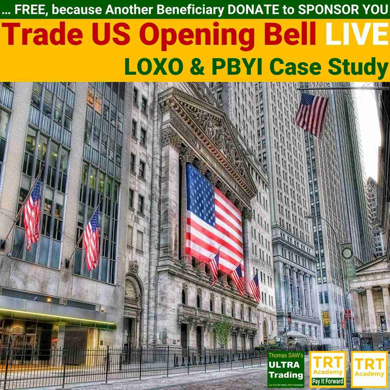 Yes! Send Me the Video – Trade US Opening Bell LIVE – LOXO & PBYI Case Study