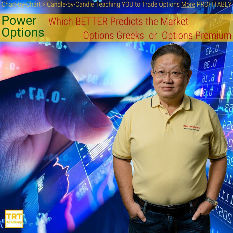 Yes… I Want to Improve My Trading Results – 2019-11 – Power Options – Which BETTER Predicts the Market Options Greeks or Options Premium