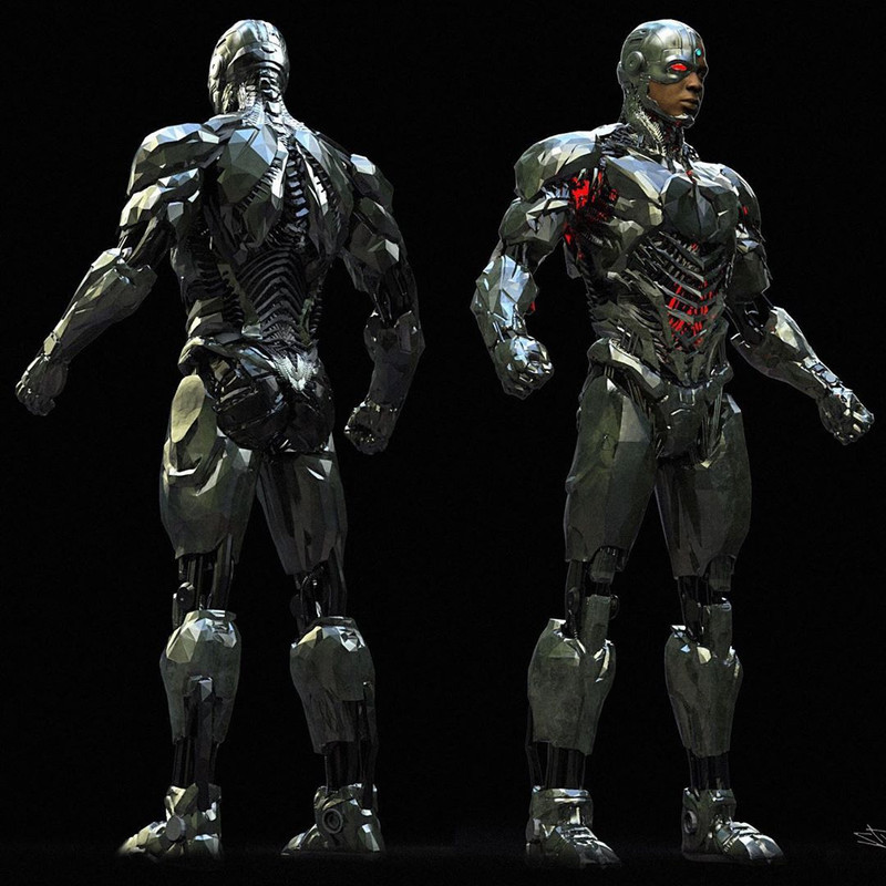 Concept Art Cyborg