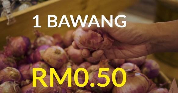 bawang RM0.50