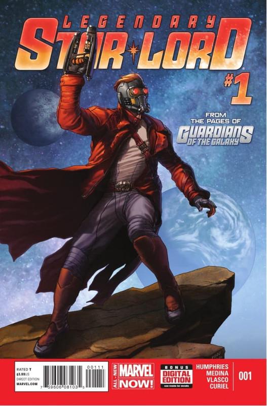legendary starlord vol 1