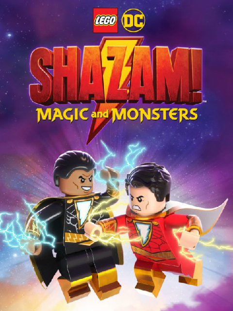 Lego DC Shazam Magic And Monsters 2020 Movie Poster
