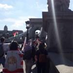 Elindult a Kossuth térről a Trianon menet