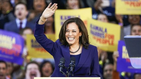 California Senator Kamala Harris during the launch of her campaign for President of the United States at a rally in her hometown on Sunday, Jan. 27, 2019