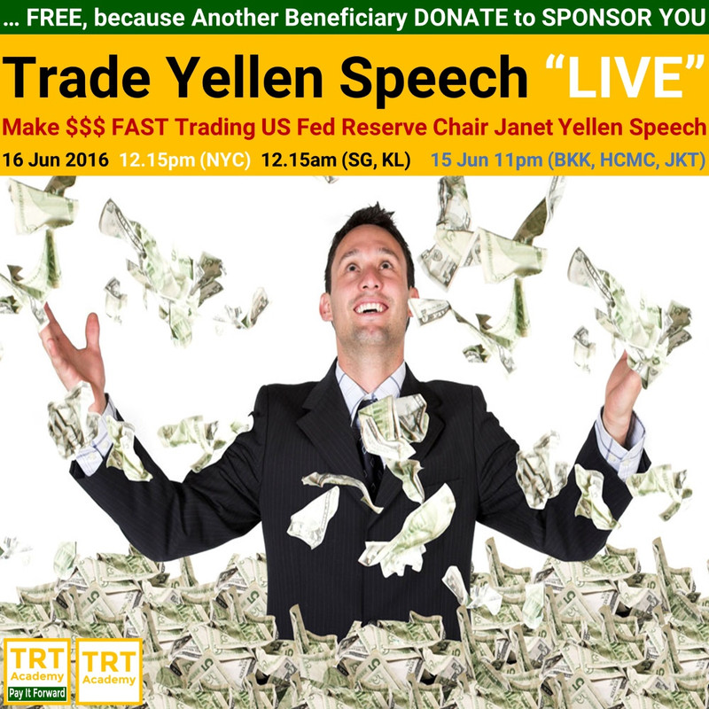 Yes! Send Me the Video – Trade Yellen Speech LIVE