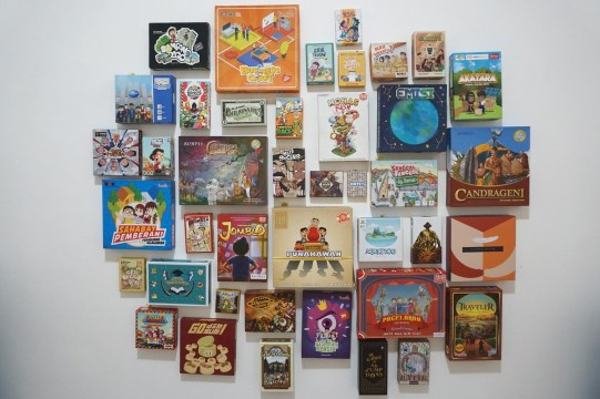 Pameran Board game Indonesia