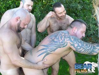 Brad Kalvo, Marc Angelo and Carlo Cox