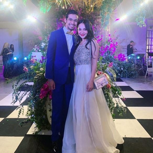 netizen kurang senang lihat penampilan nadia brian di majlis bridal showernya