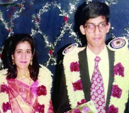 Sundar Pichai weds with Anjali Pichai