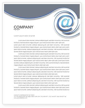 Email Letterhead Templates In Microsoft Word Adobe