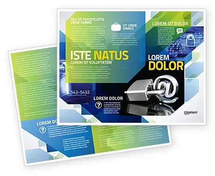 Cyber Security Brochure Templates Design And Layouts