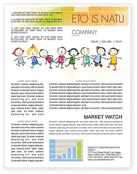 Children Newsletter Templates In Microsoft Word Adobe