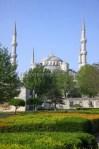 Foto Masjid Biru Sultanahmet Camii Istanbul Kalkun Foto Stok 59558