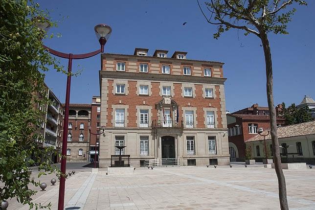 El plazo para las obras de remodelación del Palacio de Justicia es de dos años. Sara Muniosguren