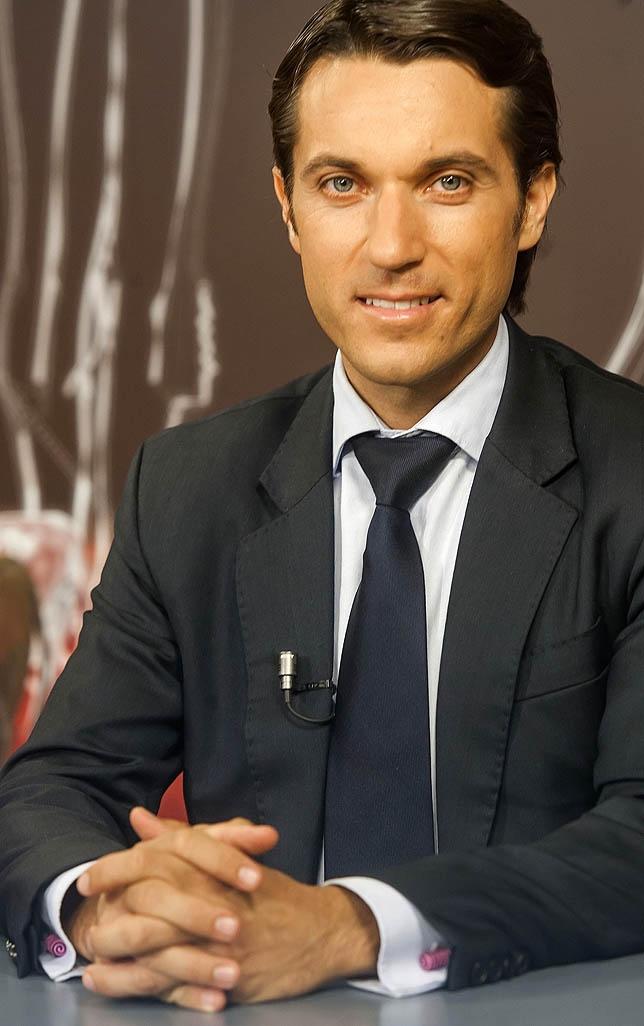 Fabián Barba durante la entrevista en 'Grana y Oro' Óscar Navarro
