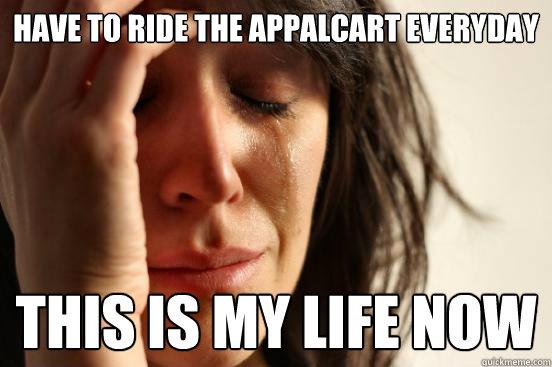 Appalcart meme