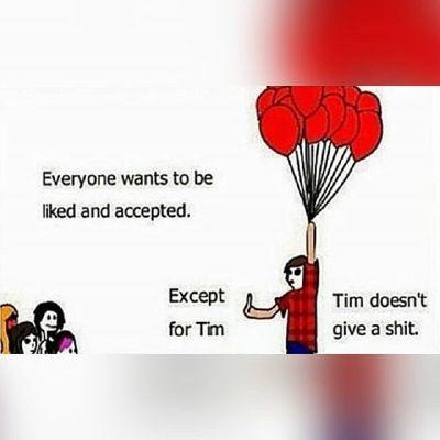 Except For Tim Random Meme Cult Idk