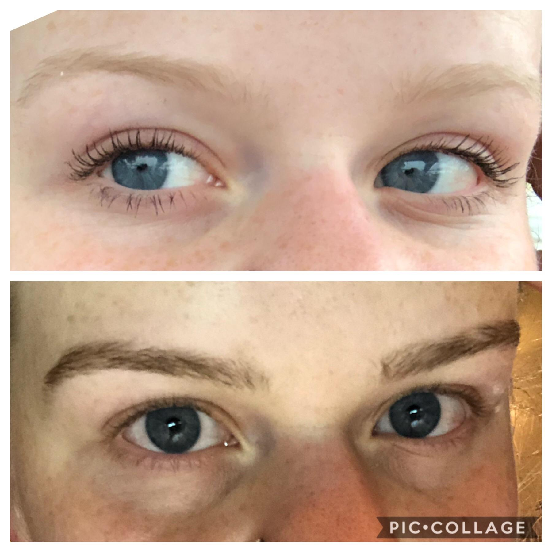 Brows Weren T Bad Before Just So Blonde They Were Invisible Dyed Them With Beard Dye And I Love The Results Fixedeyebrows