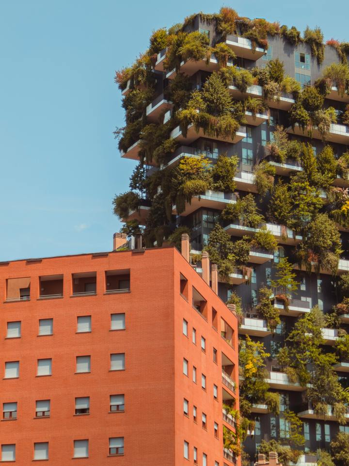 Bosco Verticale, Milan Italy (Photo credit to Ouael Ben Salah)