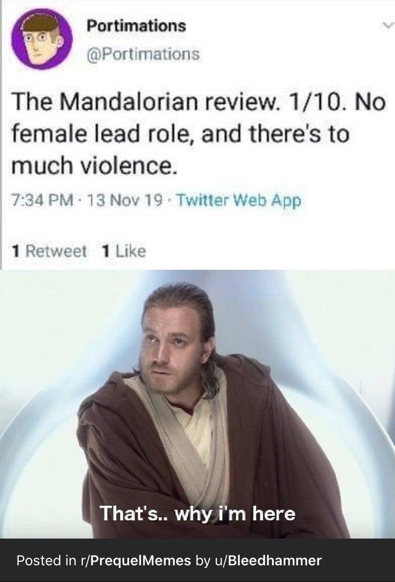 Repost To Ask Question Does Anyone Have A Prequel Meme Of Obi Wan